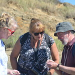 BARTON ON SEA - BNSS GEOLOGY/FOSSIL COLLECTING WALK - 13.9.12