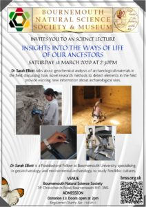 Insights into the way of life of our ancestors: geochemical analysis of archaeological materials in the field